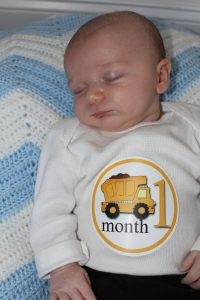 1 Month Old!